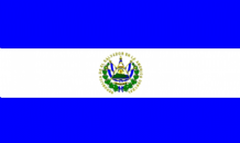EL SALVADOR - HAND WAVING FLAG (MEDIUM)